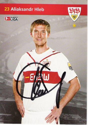 Aljaksandr Hleb (VfB Stuttgart) wechselte im Jahr 2005 für 15 Mio Euro zu Arsenal London